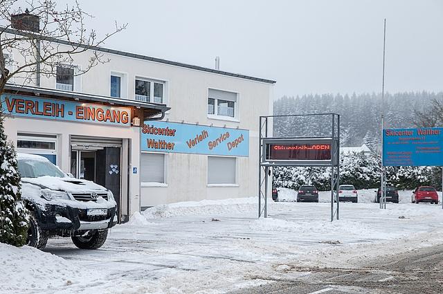 Parken - Skiliftkarussell Winterberg